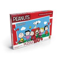 Novo Quebra Cabeça Puzzle Infantil 150 Peças Snoopy Grow