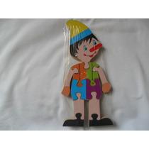 Quebra Cabeça Pinoquio Brinquedo Infantil (fp)