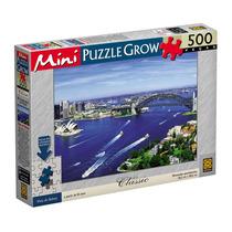 Quebra-cabeças Vista De Sydney Mini Puzzle 500 Peças - Grow