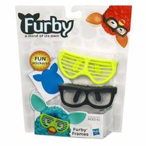Acessorio Furby 2 Oculos + Adesivos Furby Frames