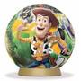 Quebra Cabeça 3d Puzzle Bola Disney Toy Stoy 3 60 Peças Elka