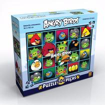 Novo Quebra Cabeça Puzzle Grow 500 Peças Angry Birds