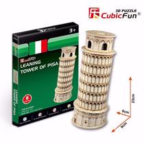 Quebra Cabeça Puzzle 3d Torre De Pisa Presente Hobbie