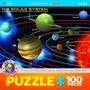 Quebra-cabeças - O Sistema Solar 100 Eurographics Pedaço