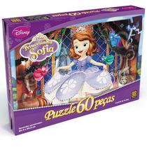 Quebra-cabeça Princesinha Sofia 60 Pçs Disney Grow