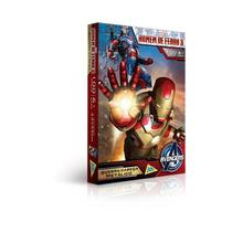 Quebra-cabeça Homem De Ferro 100 Peças Metalizado - Toyster