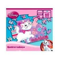 Quebra Cabeça Gatinha Marie Disney 60 Peças - Jak