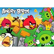 Quebra Cabeça Angry Birds Brinquedos 60 Pçs Grow Lucca Mania