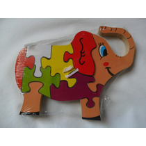 Quebra Cabeça Brinquedo Infantil Elefante(fp)