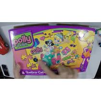 Quebra-cabeça Polly Pocket 100 Peças - Somente Aberto