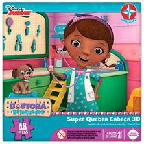 Super Quebra Cabeça 3d Dra Brinquedos - Estrela