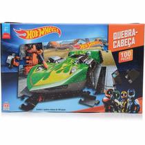 Quebra Cabeças Hot Wheels 100 Peças Mattel