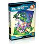 Quebra-cabeças Infantil - Coelhinho Dorminhoco 30 Pc - Grow