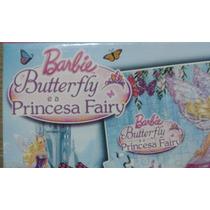 Quebra Cabeça 100 Peças - Barbie Borboleta E Princesa Fairy