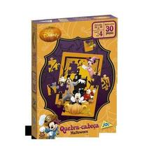 Quebra Cabeça Halloween Disney 30 Peças - Jak