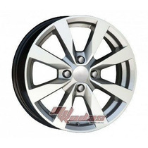 Roda Gol Power G6 Aro 15 Prata