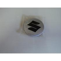 Emblema Suzuki Para Rodas Esportivas Tamanho 69mm
