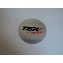 Emblema Tsw Para Roda Esportiva Tsw 55mm