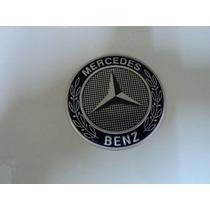Emblema Mercedes Benz Para Rodas Esportivas Tamanho 65mm