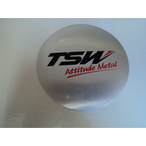 Emblema Tsw Adesivo Para Rodas Esportivas 117mm
