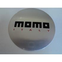 Emblema Momo Italy Adesivo Para Rodas Esportivas 117mm
