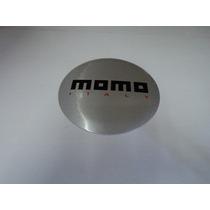 Emblema Adesivo Momo Italy Para Rodas Esportivas 58mm