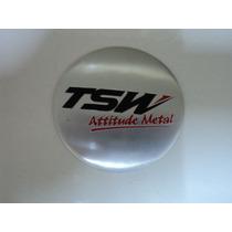 Emblema Tsw 65mm Para Rodas Esportivas