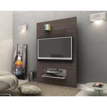 Rack Painel Tvs Lindo Design Siena -avelã