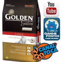 Ração Golden Gatos Adultos Carne 10 Kg