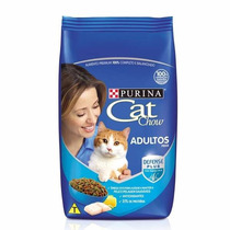 Racao Purina Cat Chow Adultos - Peixe 10 Kg.