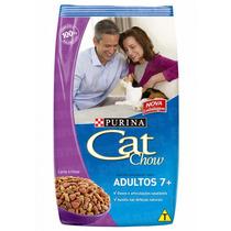 Ração Cat Chow Adultos Vitalidade 7+ - 1kg _ Purina
