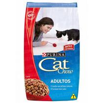 Ração Cat Chow Adultos Carne ¿ 500g _ Purina