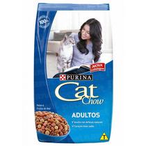 Ração Cat Chow Adultos Peixe – 500g _ Purina