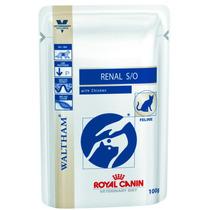 Ração Royal Canin Vet Diet Renal Feline S/o Wet Sachê - 1