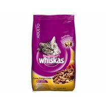 Ração Para Gatos Whiskas Frango E Leite 10,01 Kg