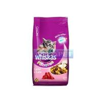 Ração Whiskas Carne E Leite Para Gatos Filhotes 500g