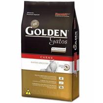 Ração Golden Para Gatos Adultos - 3kg - Carne