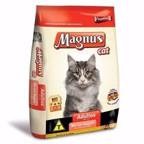 Ração Magnus Premium Gatos Adultos Mix Nuggets 25kg-homepet