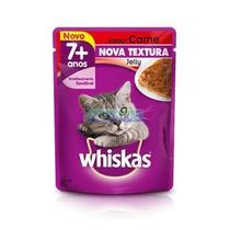 Whiskas Sache Pratos Favor. Senior Carne Jelly 85 G