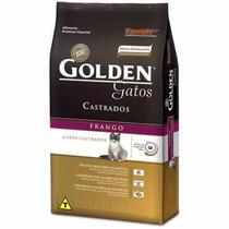 Ração Golden Gatos Adultos Castrados Frango 3kg