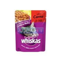 Sache Whiskas Pratos Favoritos Carne 85 G