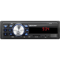 Auto Rádio Multilaser One P3213-entrada Auxiliar/usb/sd Card