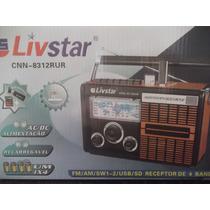 Caixa Som Com Função Gravador Sd/ Usb Mp3,mp4 Radio Am E Fm
