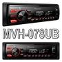 Media Receiver Pioneer Mvh-078ub Mp3 Usb Am Fm Rádio Som