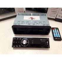 Auto Radio Mp3 E-tech - Am/fm/usb/sd/aux - Frente Removível