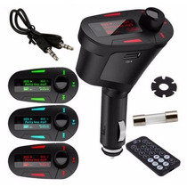 Fm Transmitter Usb Sd Vehicular Wireless Exclusive 1st Line
