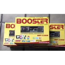 Radio Mp3, Usb, Automotivo Buster Bmp-1250ub Mp3,wma,usb,sd