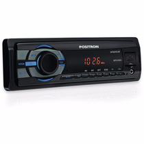 Auto Rádio Pósitron Sp2210ub Slim Mp3 Usb Sd Aux Fm Saíd Rca