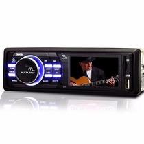 Dvd Multilaser Rock Automotivo Tela 3 Mp3 Usb Cartão Radio
