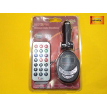 Transmissor Fm Veicular Radio Mp3 Usb Sd